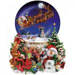 Sunsout-95302 Lori Schory - Santa's Snowy Ride