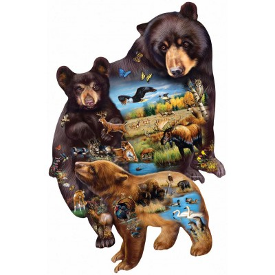 Sunsout-95732 Cynthie Fisher - Bear Family Adventure