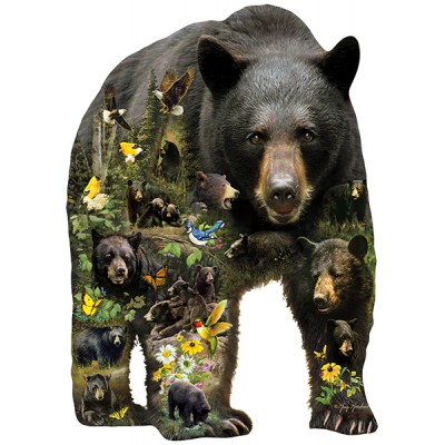 Sunsout-96033 Pièces XXL - Greg Giordano - Forest Bear
