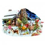Sunsout-96046 Lori Schory - Santa's Rest Stop