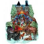Sunsout-96055 Parker Fulton - Forest Nativity