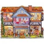 Sunsout-96058 Steve Crisp - Autumn Country House