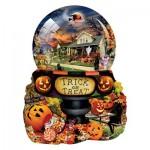 Sunsout-96064 Pièces XXL - Lori Schory - Halloween Globe