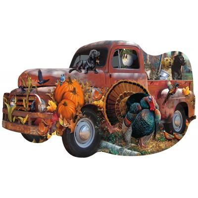 Sunsout-96089 Jerry Gadamus & Cynthia Fisher - Harvest Truck