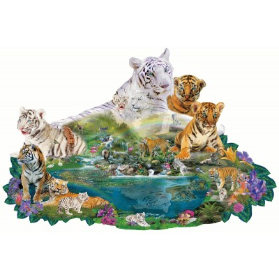 Sunsout-96108 Alixandra Mullins - Tigers at the Pool