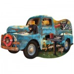Sunsout-97032 Le Camion Bleu