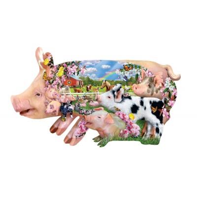 Sunsout-97077 Pièces XXL - Lori Schory - Pig Farm