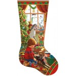 Sunsout-97108 Liz Goodrick Dillon - A Boy's Stocking