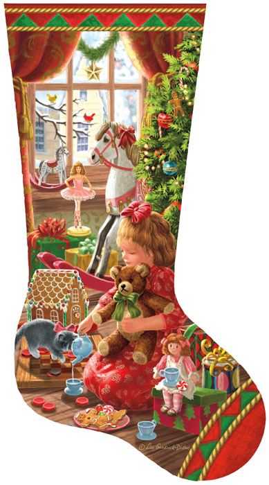 Sunsout-97111 Liz Goodrick Dillon - A Girl's Stocking