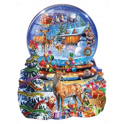 Sunsout-97182 Adrian Chesterman - Christmas Snow Globe