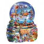 Sunsout-97182 Adrian Chesterman - Christmas Snow Globe