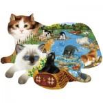 Sunsout-97220 Ashley Davis - Fishing Kittens