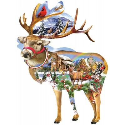 Sunsout-97295 Lori Schory - Reindeer Training