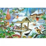 The-House-of-Puzzles-1400 Pièces XXL - Feed The Birds