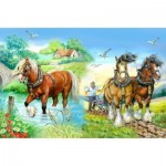 The-House-of-Puzzles-1417 Pièces XXL - Gentle Giants