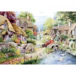The-House-of-Puzzles-1431 Pièces XXL - River Cottage