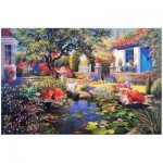 The-House-of-Puzzles-1479 Garden Pond