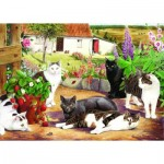 The-House-of-Puzzles-1585 Pièces XXL - Cool Cats
