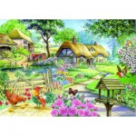 The-House-of-Puzzles-1592 Pièces XXL - Cottage - Country Living
