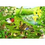The-House-of-Puzzles-1608 Pièces XXL - Ducks To Water