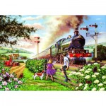 The-House-of-Puzzles-1615 Pièces XXL - Railway Children
