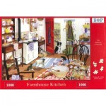 The-House-of-Puzzles-1691 Farmhouse Kitchen