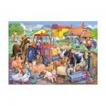 The-House-of-Puzzles-1806 Pièces XXL - Farm Friends
