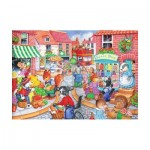 The-House-of-Puzzles-1837 Pièces XXL - In The Town