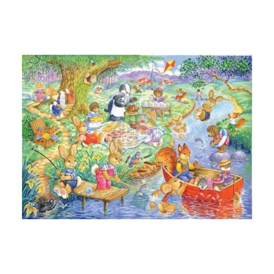 The-House-of-Puzzles-1844 Pièces XXL - Picnic Time