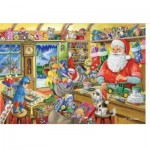 The-House-of-Puzzles-1950 Christmas Collectors Edition No.5 - Santa's Workshop