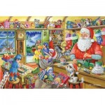 The-House-of-Puzzles-2162 Christmas Collectors Edition No.5 - Santa's Workshop