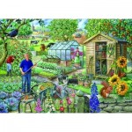 The-House-of-Puzzles-2179 Pièces XXL - At The Allotment
