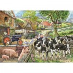 The-House-of-Puzzles-2223 Pièces XXL - Oak Tree Farm