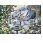 The-House-of-Puzzles-2247 Pièces XXL - Winter Birds