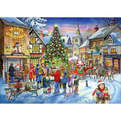 The-House-of-Puzzles-2254 Christmas Collectors Edition No.6 - Christmas Shopping