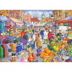 The-House-of-Puzzles-2452 Pièces XXL - Market Day