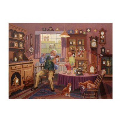 The-House-of-Puzzles-2551 Grandfather Time
