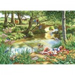 The-House-of-Puzzles-2742 Pièces XXL - Gone Fishing