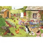The-House-of-Puzzles-2759 Pièces XXL - Grandma's Garden