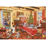 The-House-of-Puzzles-2827 Christmas Collectors Edition No.8 - Unexpected Guest
