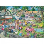 The-House-of-Puzzles-2940 Summer Green