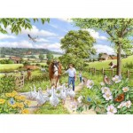 The-House-of-Puzzles-3022 Pièces XXL - Goosey Gander