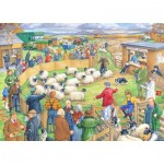 The-House-of-Puzzles-3039 Pièces XXL - Sheep Sale