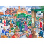 The-House-of-Puzzles-3077 Pièces XXL - Bus Station