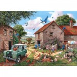 The-House-of-Puzzles-3084 Pièces XXL - Farmers Wife