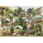 The-House-of-Puzzles-3107 Pièces XXL - Pastoral