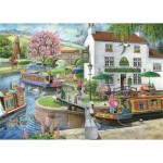 The-House-of-Puzzles-3176 Trouvez les 15 Différences No.6 - By The Canal