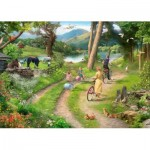 The-House-of-Puzzles-3404 Pièces XXL - Family Day Out