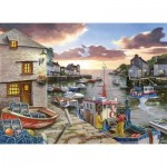 The-House-of-Puzzles-3428 Pièces XXL - Harbour Lights