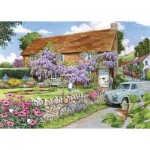 The-House-of-Puzzles-3473 Pièces XXL - Wisteria Cottage